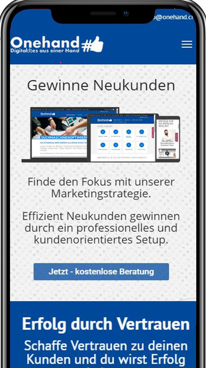 iPhoneX_Mockup Onehand